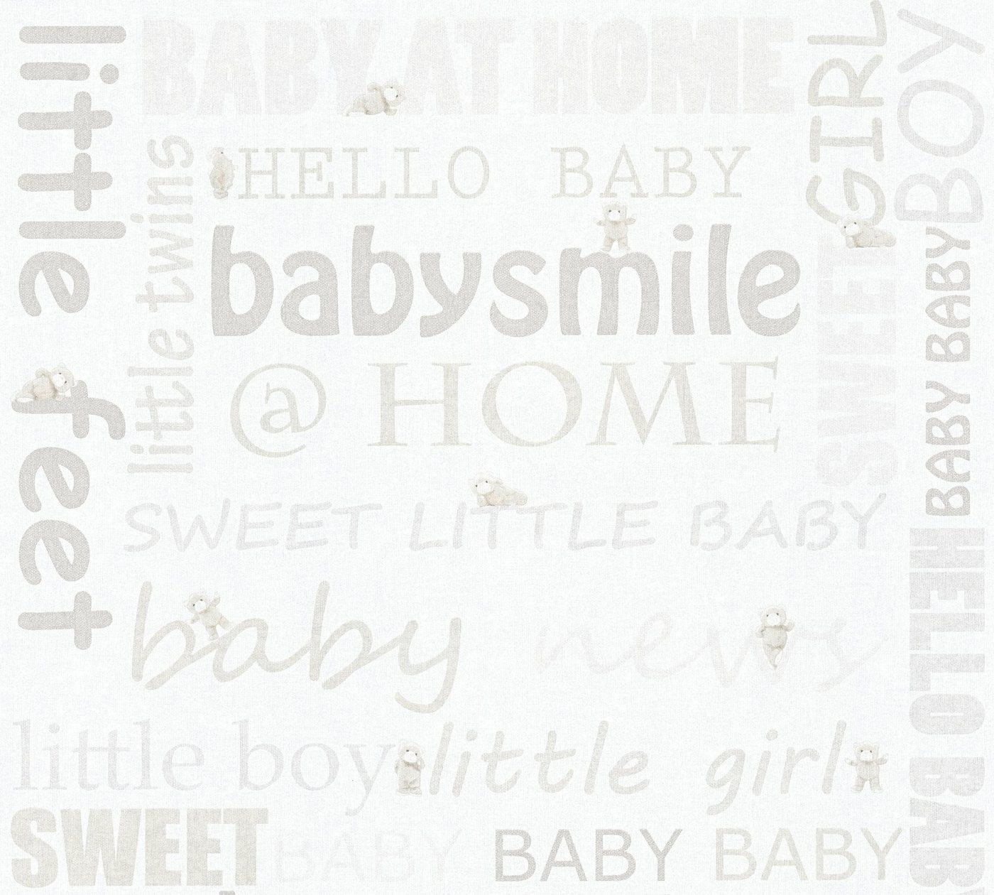 living walls Vliestapete »Little Stars«, glatt, Kinderzimmertapete für Babys, PVC-frei, bunt