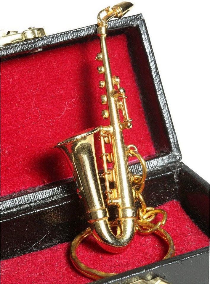 Ambiente Haus Dekofigur »Schlüsselanhänger Saxophon 7cm« (1 Stück)