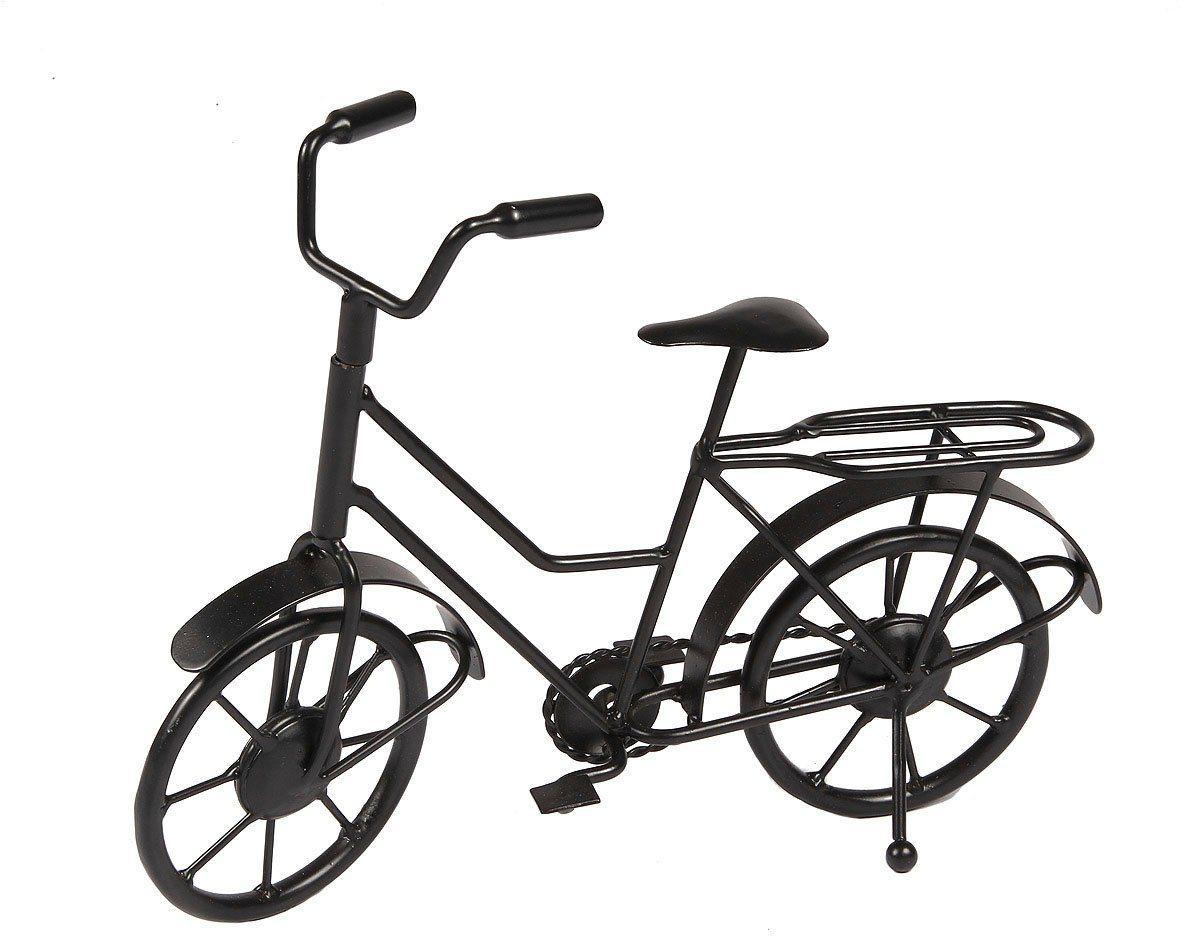 Ambiente Haus Wanddekoobjekt »Deko Fahrrad - schwarz 27cm« (1 Stück)
