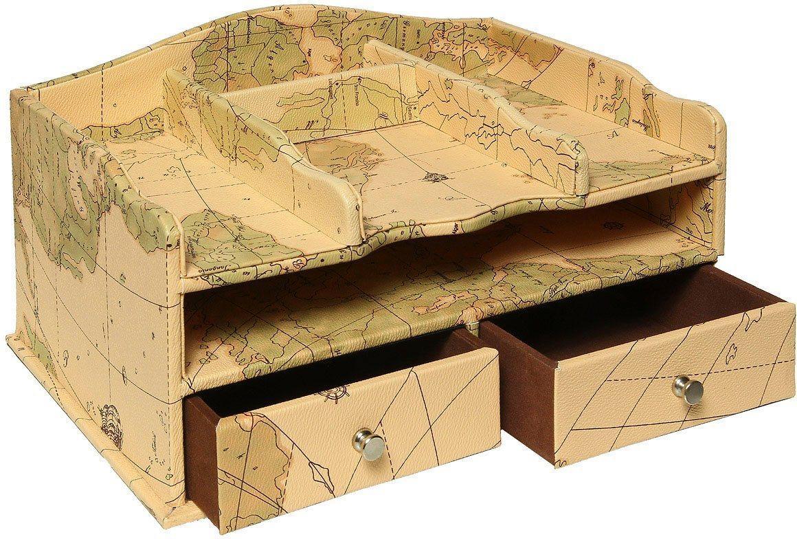 Ambiente Haus Organizer »Welt Schreibtisch Organisiere 34cm« (1 Stück)