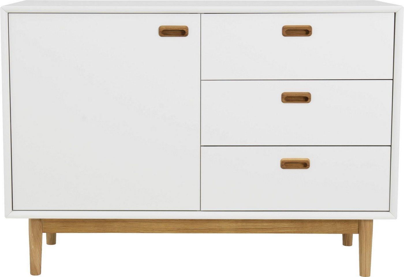 Tenzo Sideboard »Svea«, mit 1 Tür & 3 Schubladen