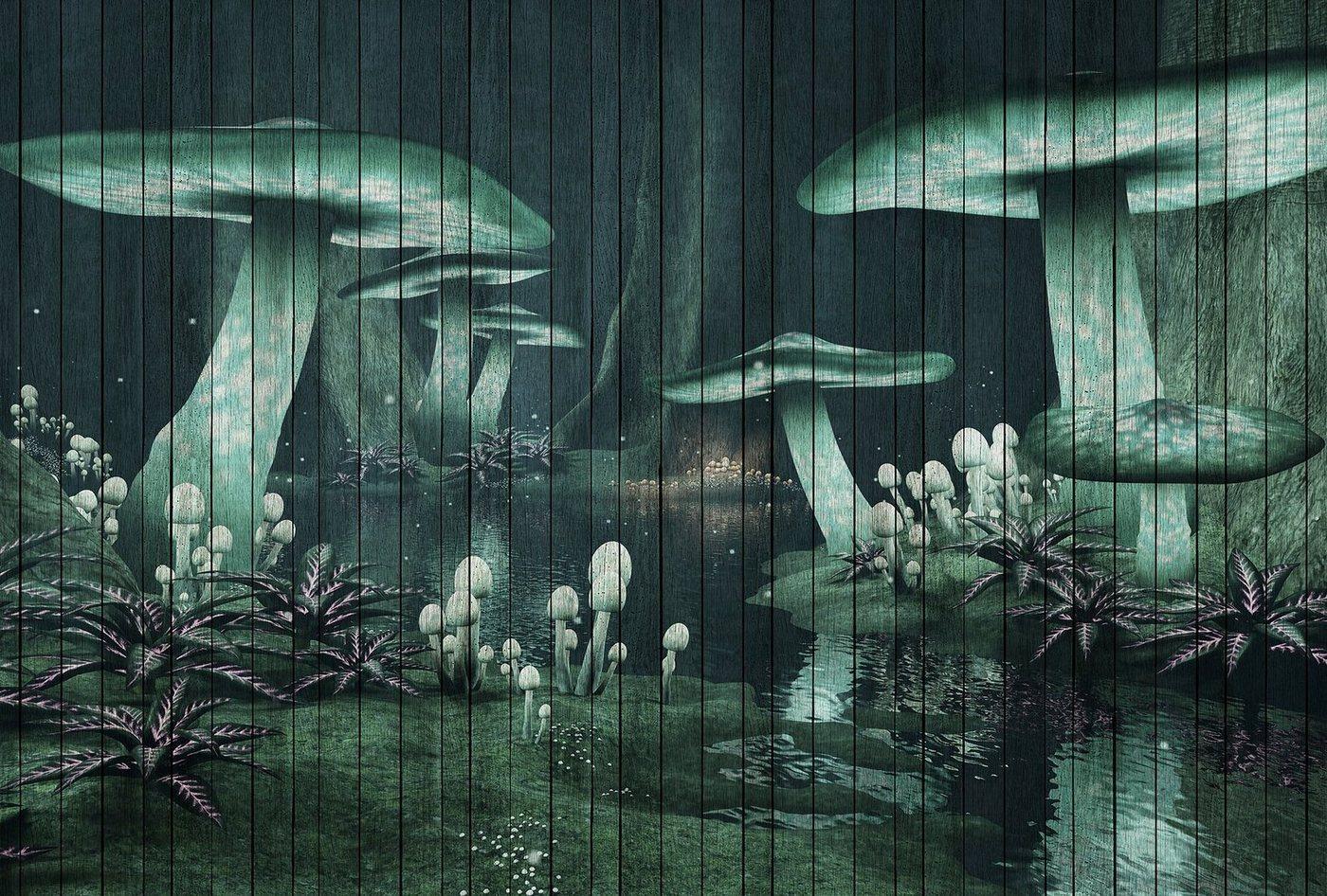 living walls Fototapete »Walls by Patel Fantasy 1«, glatt, (4 St)