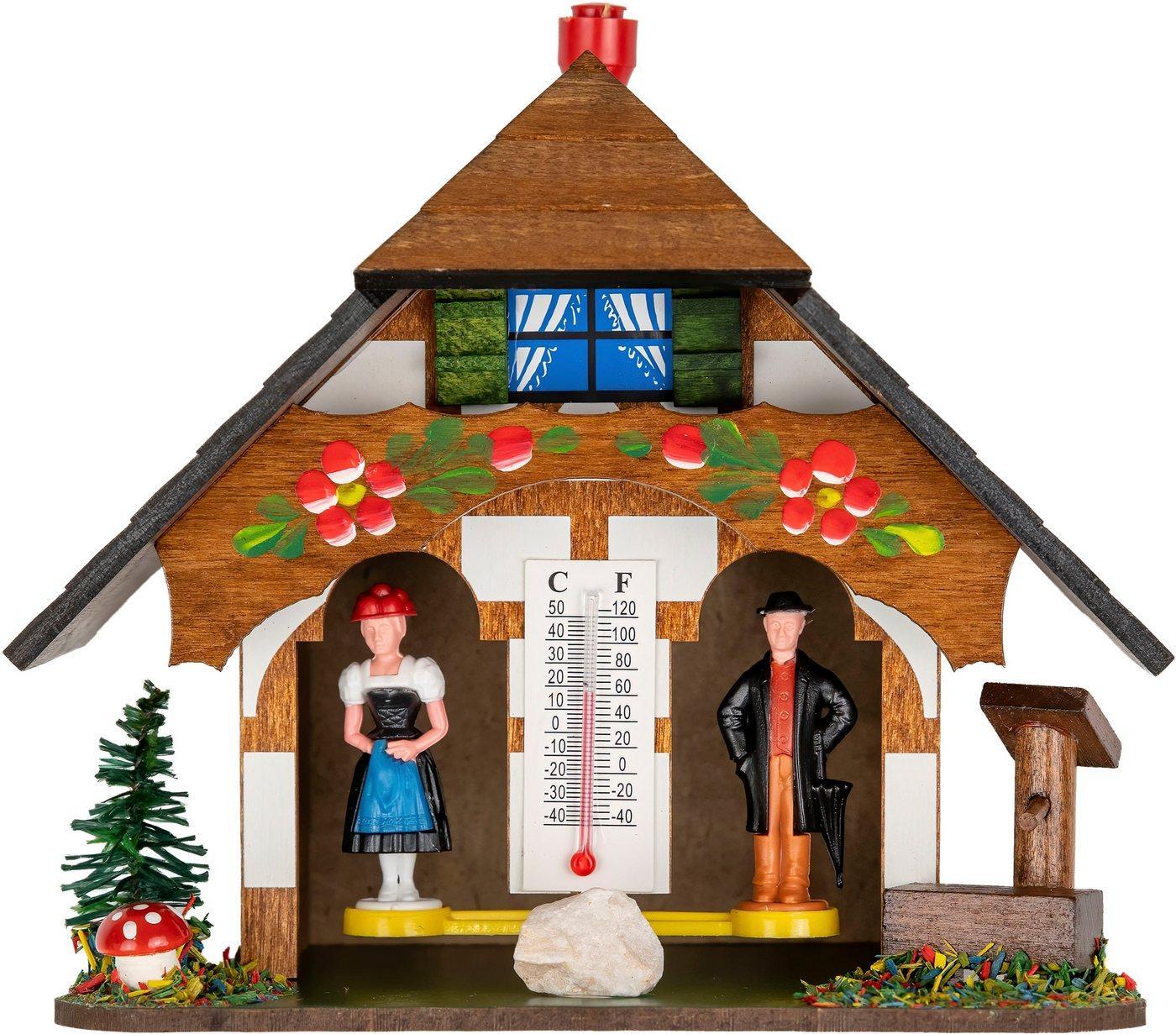 Christoffel Tischuhr »Wetterhäuschen Christoffel«