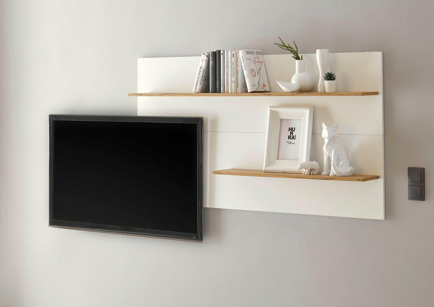 INOSIGN Wandpaneel »CiTY Wandpaneel 72«, im modernen Design, weiß