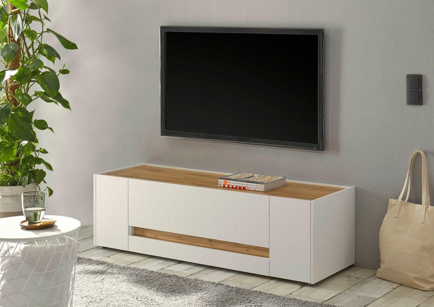 INOSIGN Lowboard »CiTY Lowboard 30«, im modernen Design, weiß