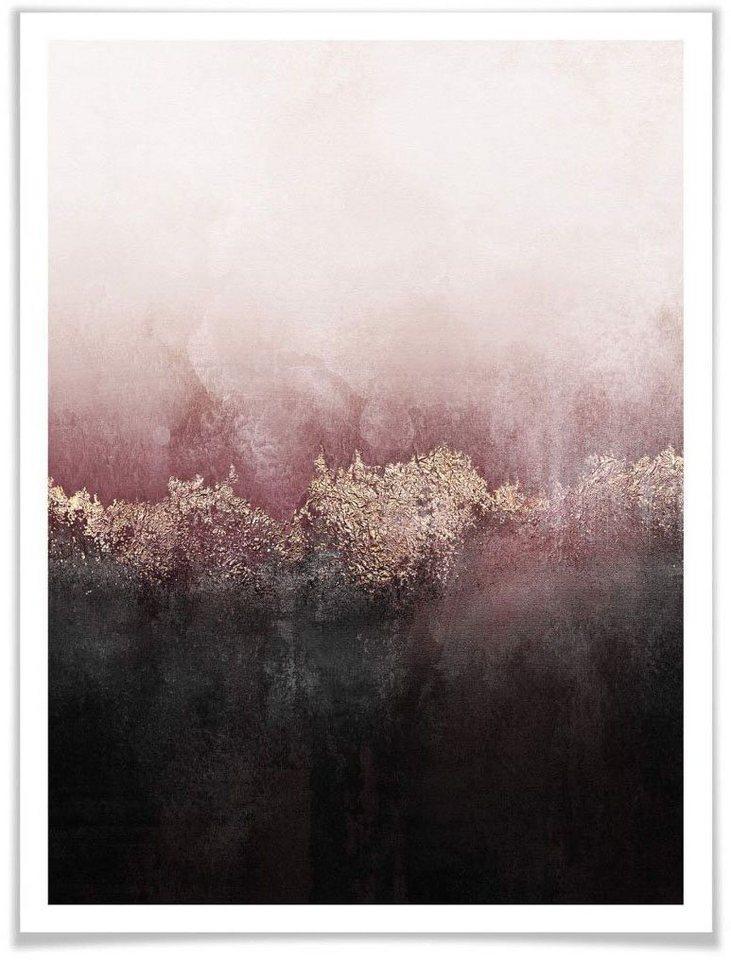 Wall-Art Poster »Rosa Himmel«, Himmel (1 Stück)