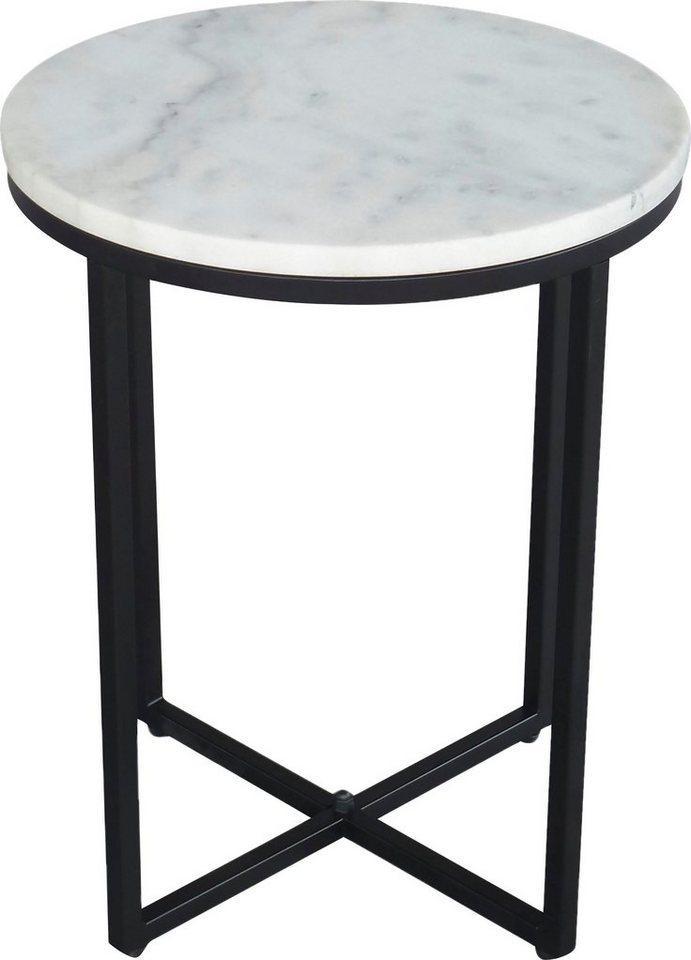 SIT Beistelltisch, mit Marmorplatte