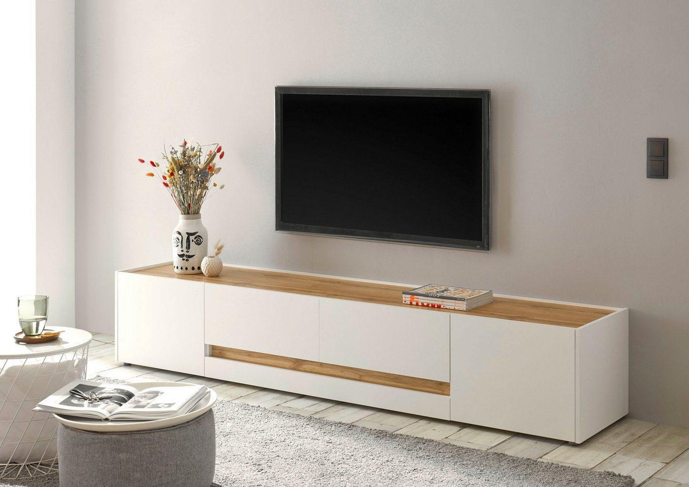 INOSIGN Lowboard »CiTY Lowboard 33«, im modernen Design, weiß