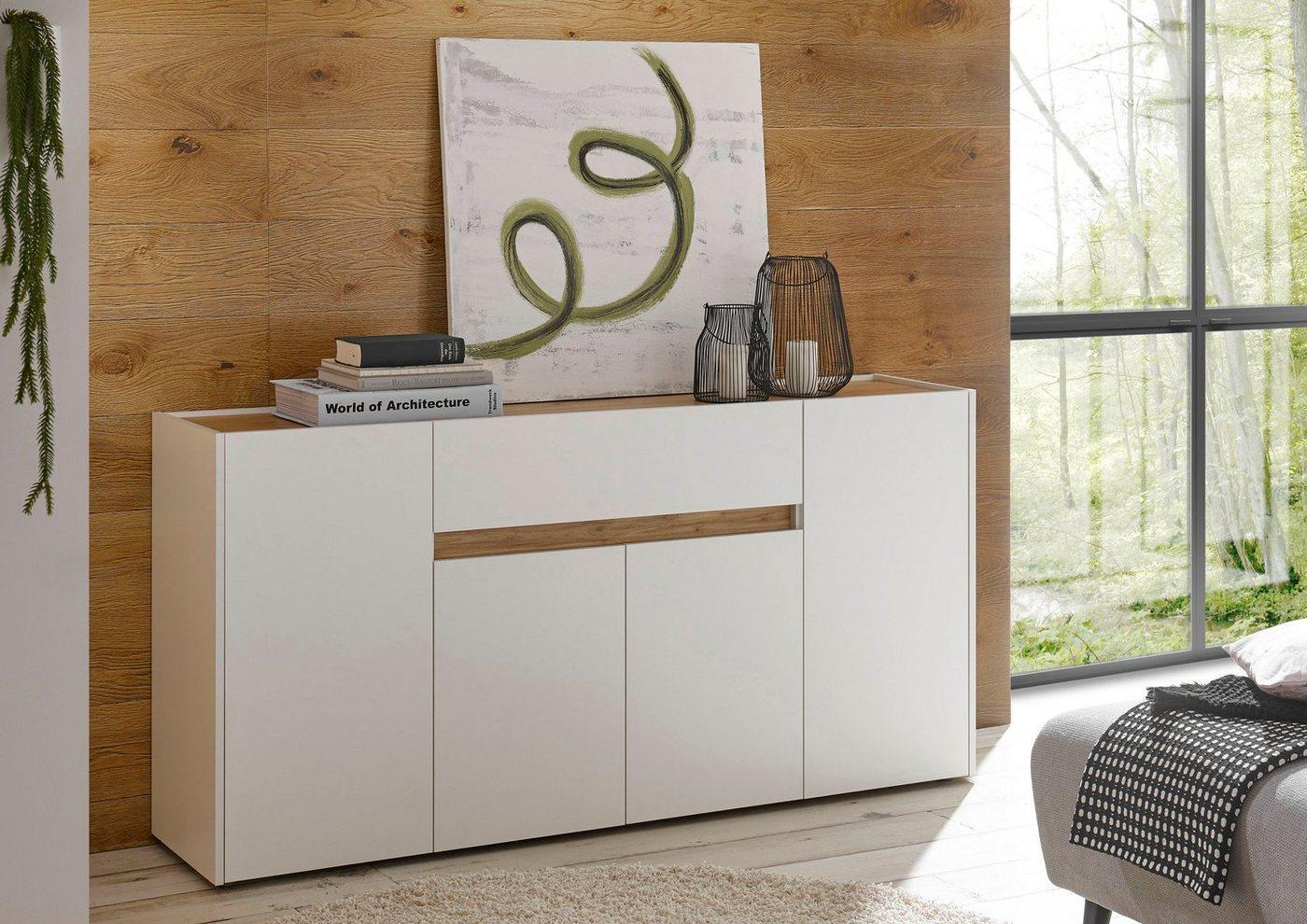 INOSIGN Sideboard »CiTY Sideboard 51«, im modernen Design, weiß