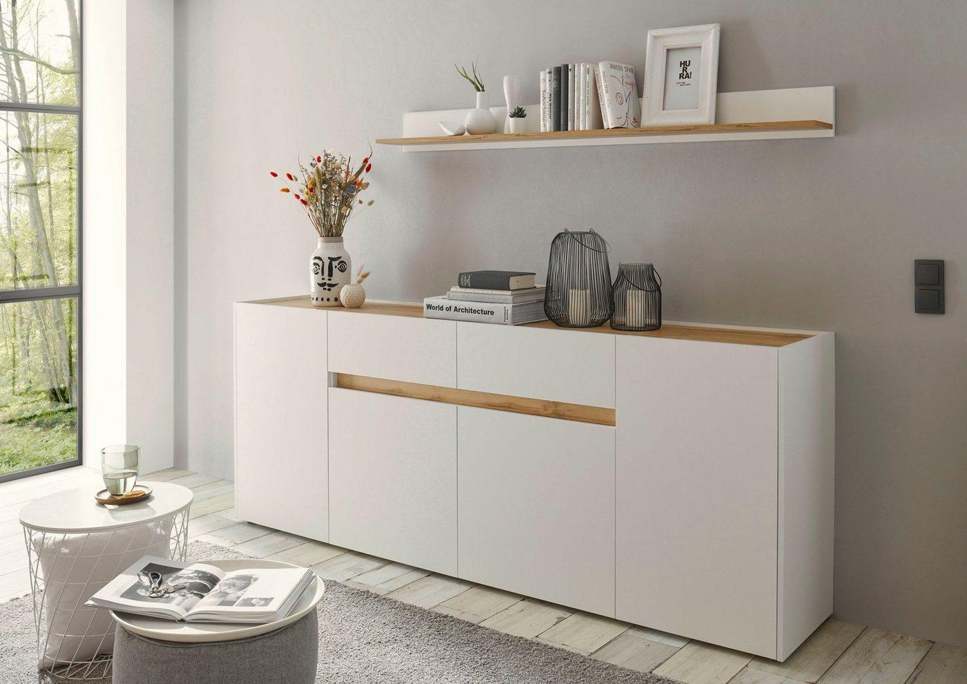 INOSIGN Sideboard »CiTY Sideboard 52«, im modernen Design, weiß