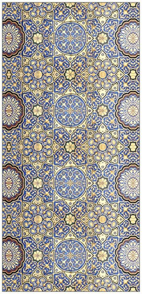 MySpotti Duschrückwand »fresh Arabesque Fliese«, 100 x 210 cm, aus PVC