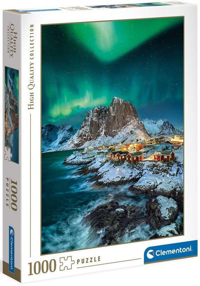 Clementoni® Puzzle »High Quality Collection - Lofoten Islands«, 1000 Puzzleteile, Made in Europe, FSC® - schützt Wald - weltweit