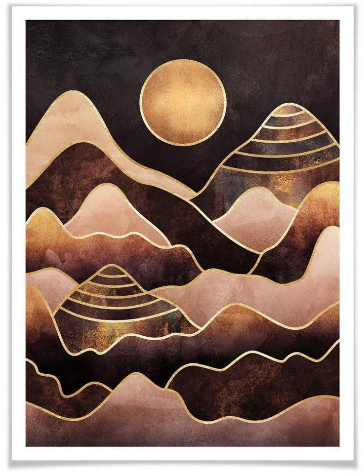 Wall-Art Poster »Sonnenuntergang«, Sonnenuntergang (1 Stück)