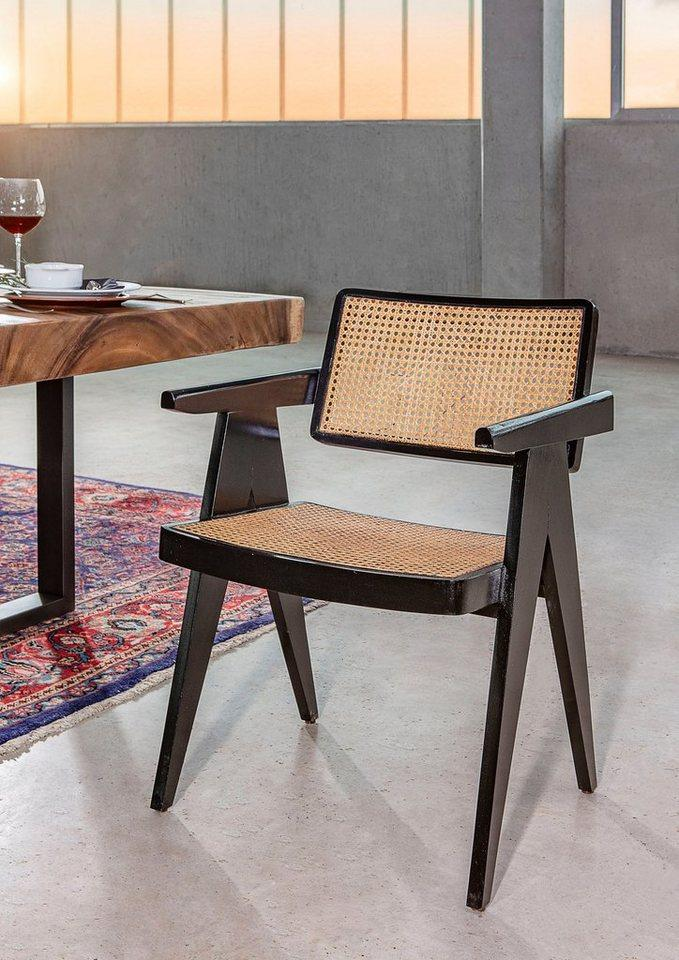 Gutmann Factory Stuhl »Spy«, mit Wiener Geflecht