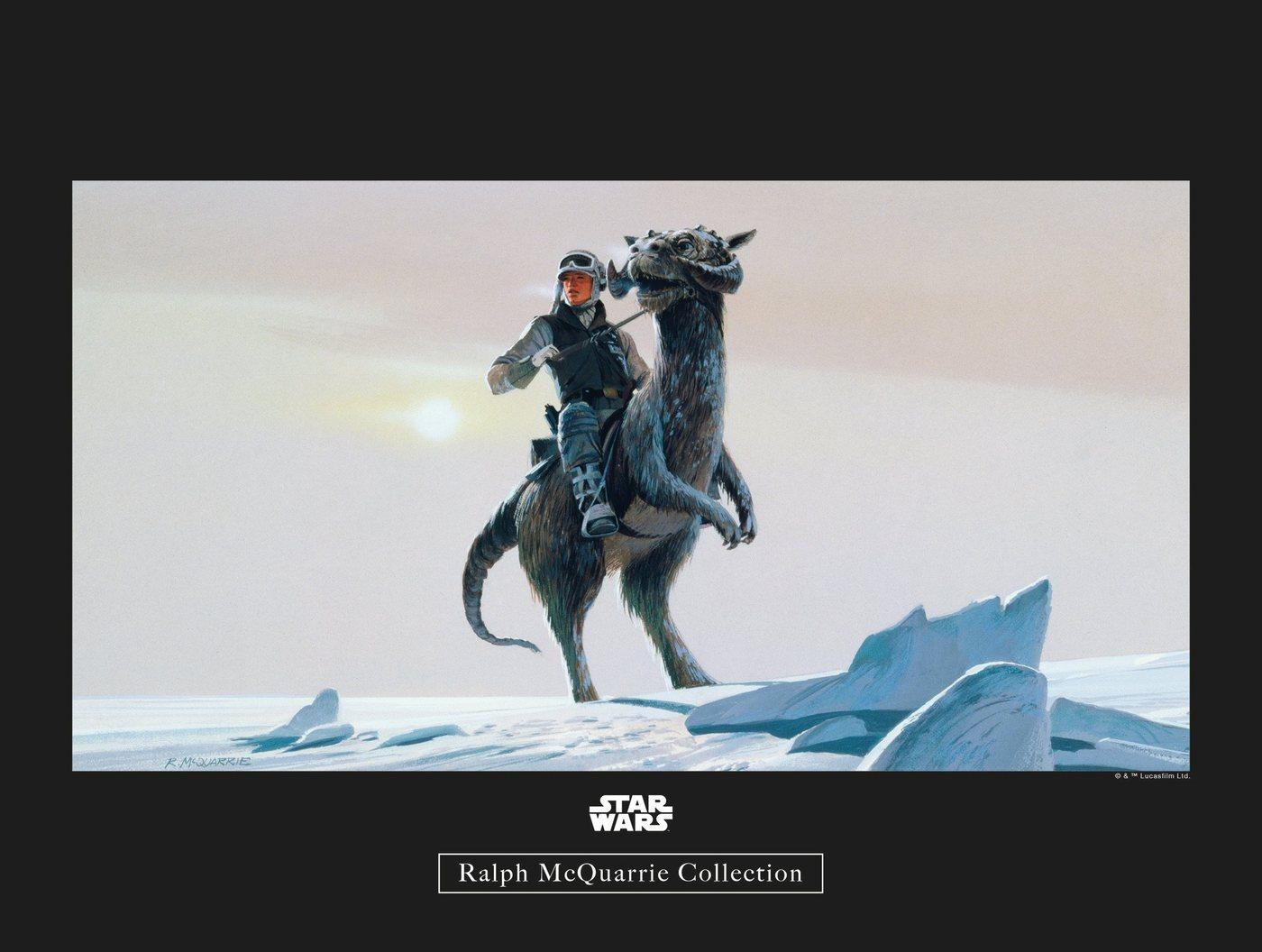 Komar Poster »Star Wars Classic RMQ Hoth Tauntaun«, Star Wars