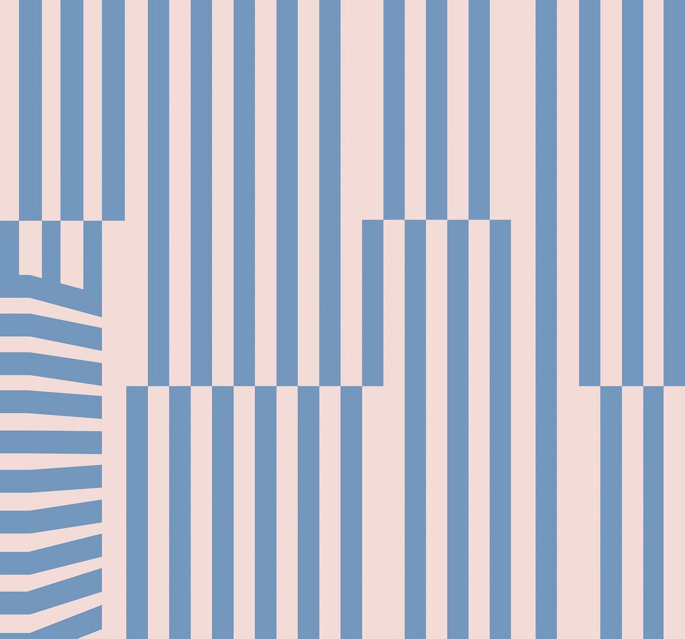 Komar Fototapete »Plural«, glatt, bedruckt, abstrakt, geometrisch