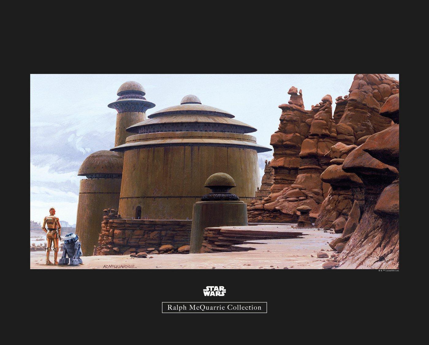 Komar Poster »Star Wars Classic RMQ Jabbas Palace«, Star Wars