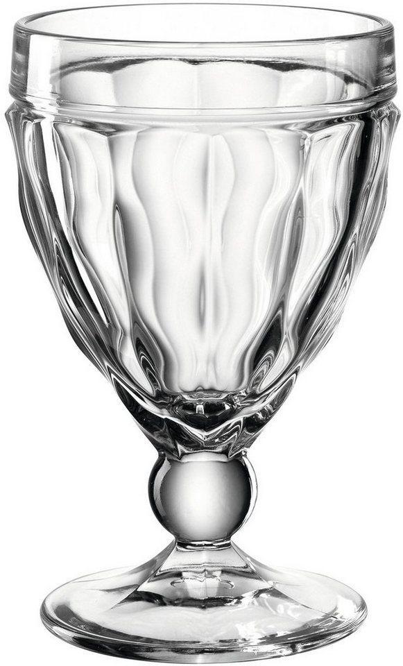 LEONARDO Rotweinglas »BRINDISI«, Glas, 310 ml, 6-teilig