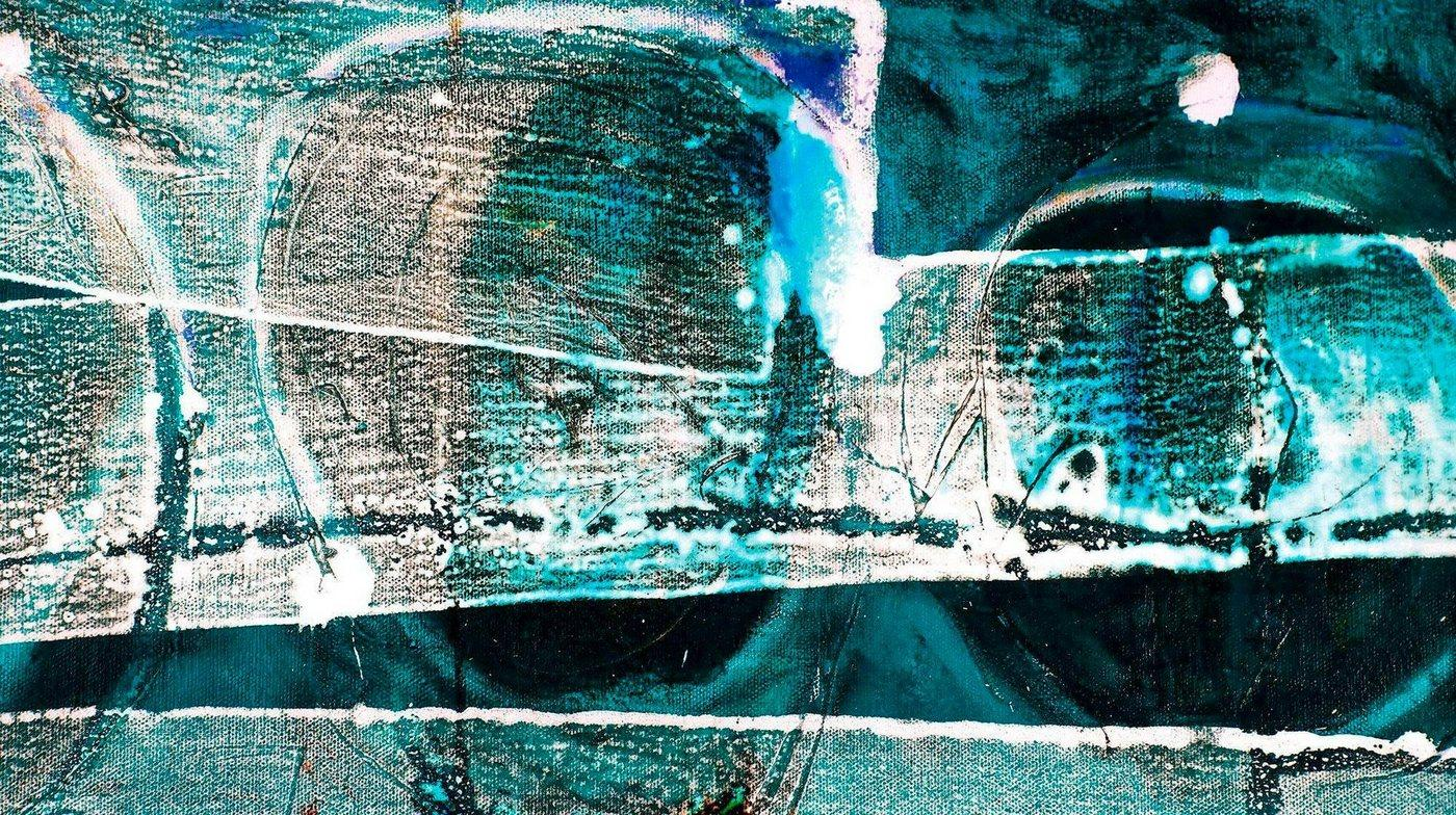 Komar Vliestapete »Pure Tracks Imbricating«, glatt, Steinoptik