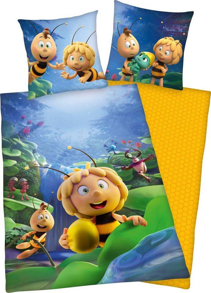 Kinderbettwäsche »Biene Maja«, Die Biene Maja, mit tollem Biene Maja und Willi Motiv