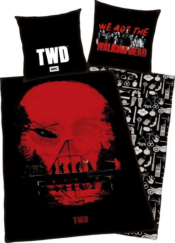 Wendebettwäsche »The Walking Dead«, The Walking Dead, mit