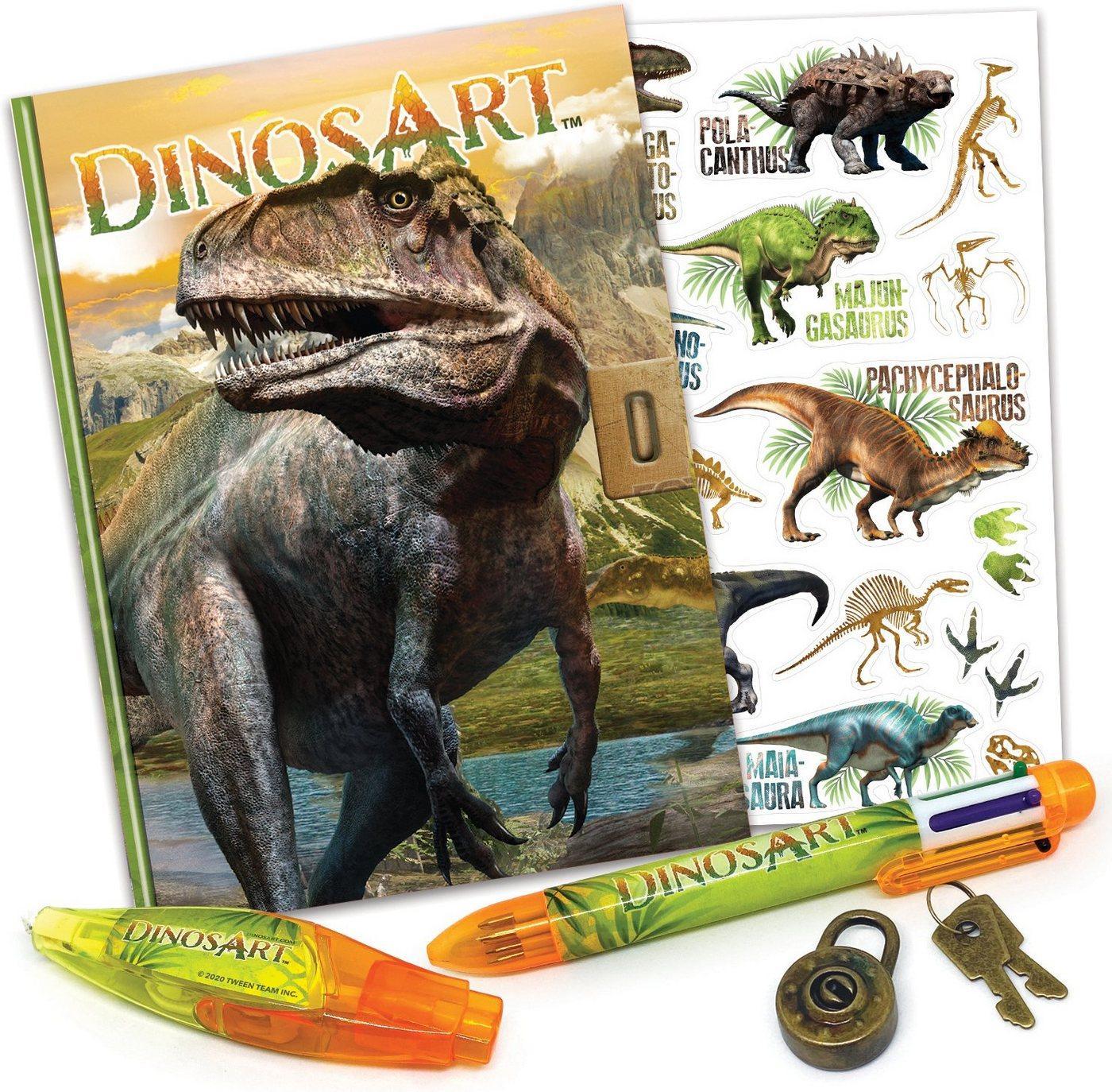 Dinos Art Tagebuch »Dinos Art, Dinos geheimes Tagebuch«