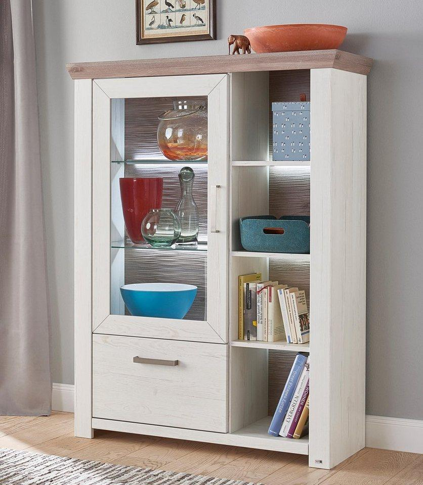 set one by Musterring Highboard »york«, Typ 13