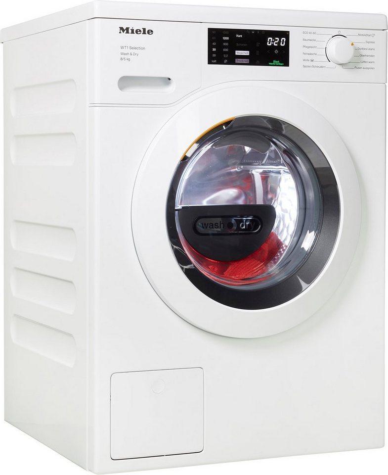 Miele Waschtrockner WTD163 WCS, 8 kg, 5 kg, 1500 U/min, Energieeffizienzklasse Wasch-Zyklus A, unterbaufähig
