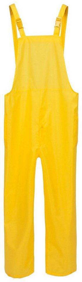 Regenlatzhose wasserdicht, gelb