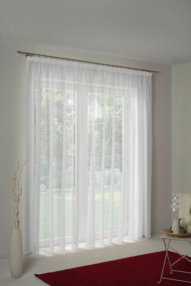 Vorhang »Hanna mit Faltenband«, Wirth, Faltenband (1 Stück), Store