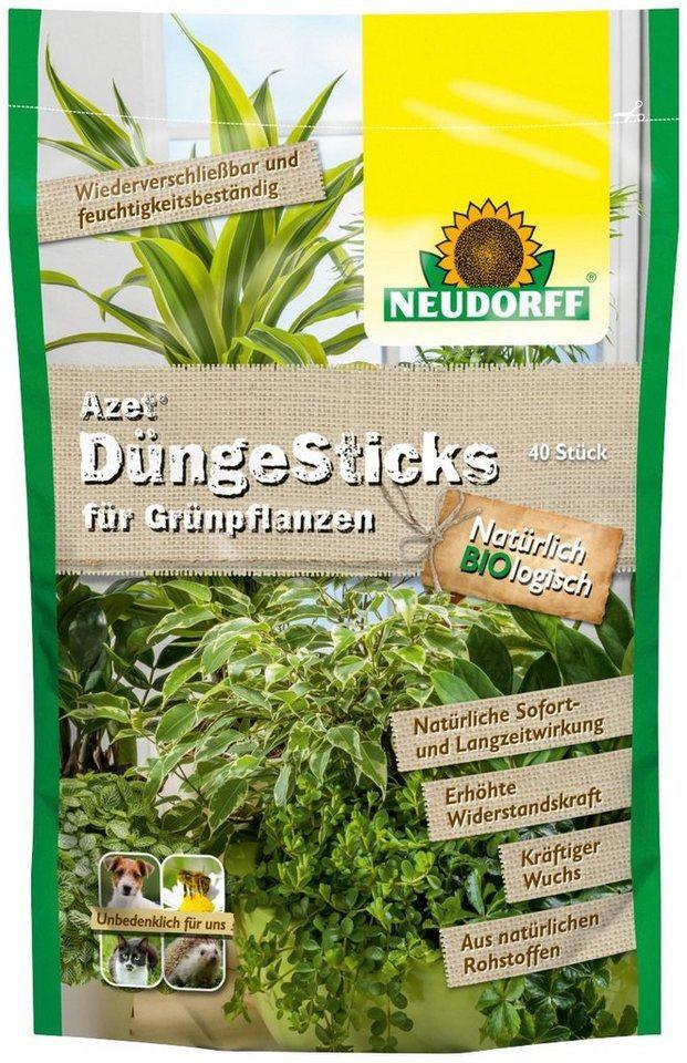 Neudorff Pflanzendünger »Azet Grünpflanzen«, Düngerstäbchen, 40-St.