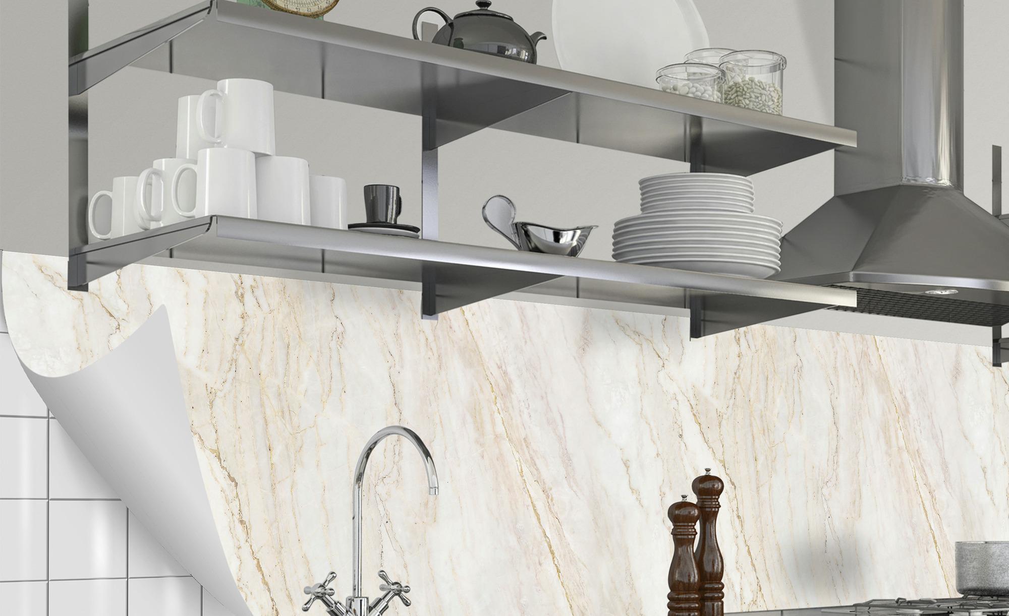 Küchenrückwand-Folie Fixy Mia - 60 cm - 60 cm - Sconto