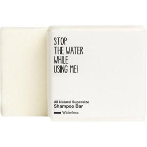 STOP THE WATER WHILE USING ME! Haare Shampoo All Natural Waterless Supersize Shampoo Bar 500 g