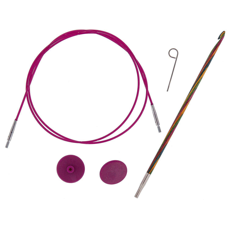 KnitPro Tunesische Häkelnadel, 4.0 mm Ø, im Set
