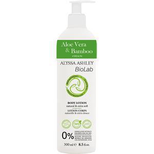 Alyssa Ashley BioLab Aloe Vera & Bambus Body Lotion 300 ml