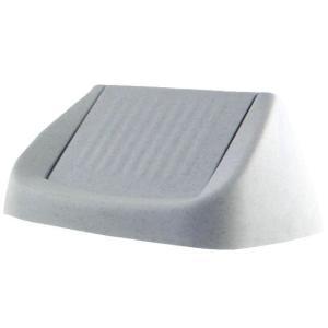Bekaform Ersatz-Schwingdeckel, Ersatzdeckel für Bekaform Schwingdeckeleimer 50 Liter, Für 50 Liter Eimer, Farbe: granit