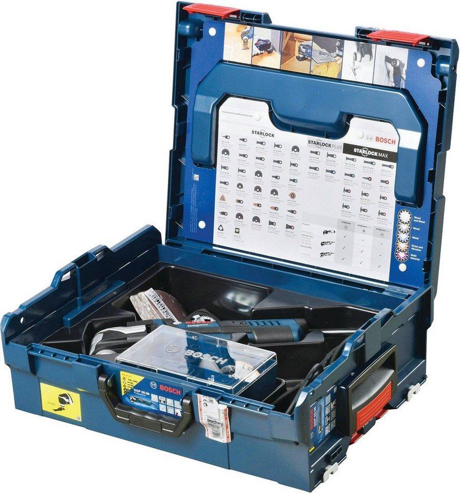 Bosch Professional Elektromesser Akku-Multi-Cutter GOP 55-36 Multi-Cutter ZB L-BOXX, 550 W