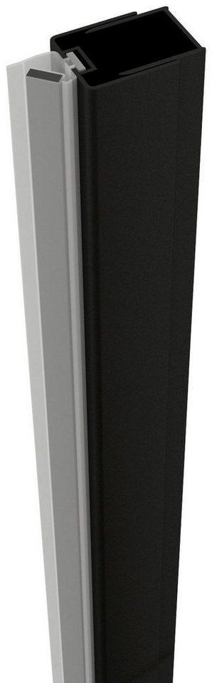 Sanotechnik Abschlussprofil »ELITE« (1-St), Magnetprofil, zur Montage von Duschtüren an die Wand