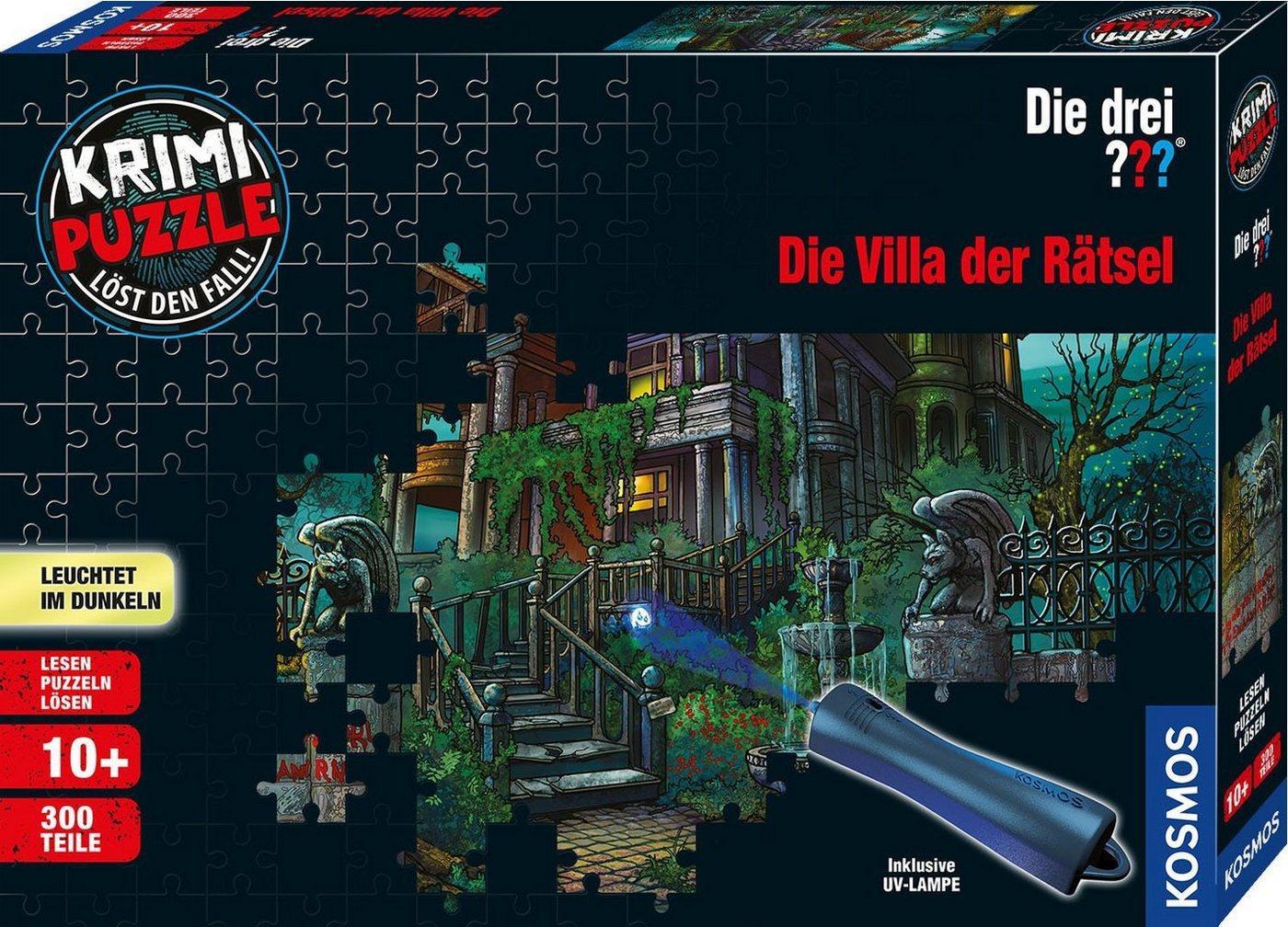 Kosmos Puzzle »Krimipuzzle Die drei ??? Die Villa der Rätsel«, 300 Puzzleteile, Made in Germany