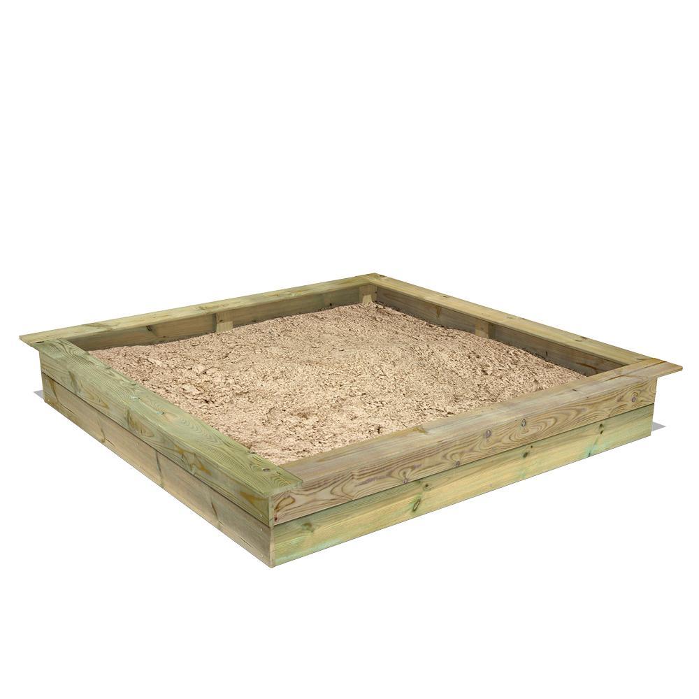 PowerPit Sandkasten | Holzsandkasten kaufen