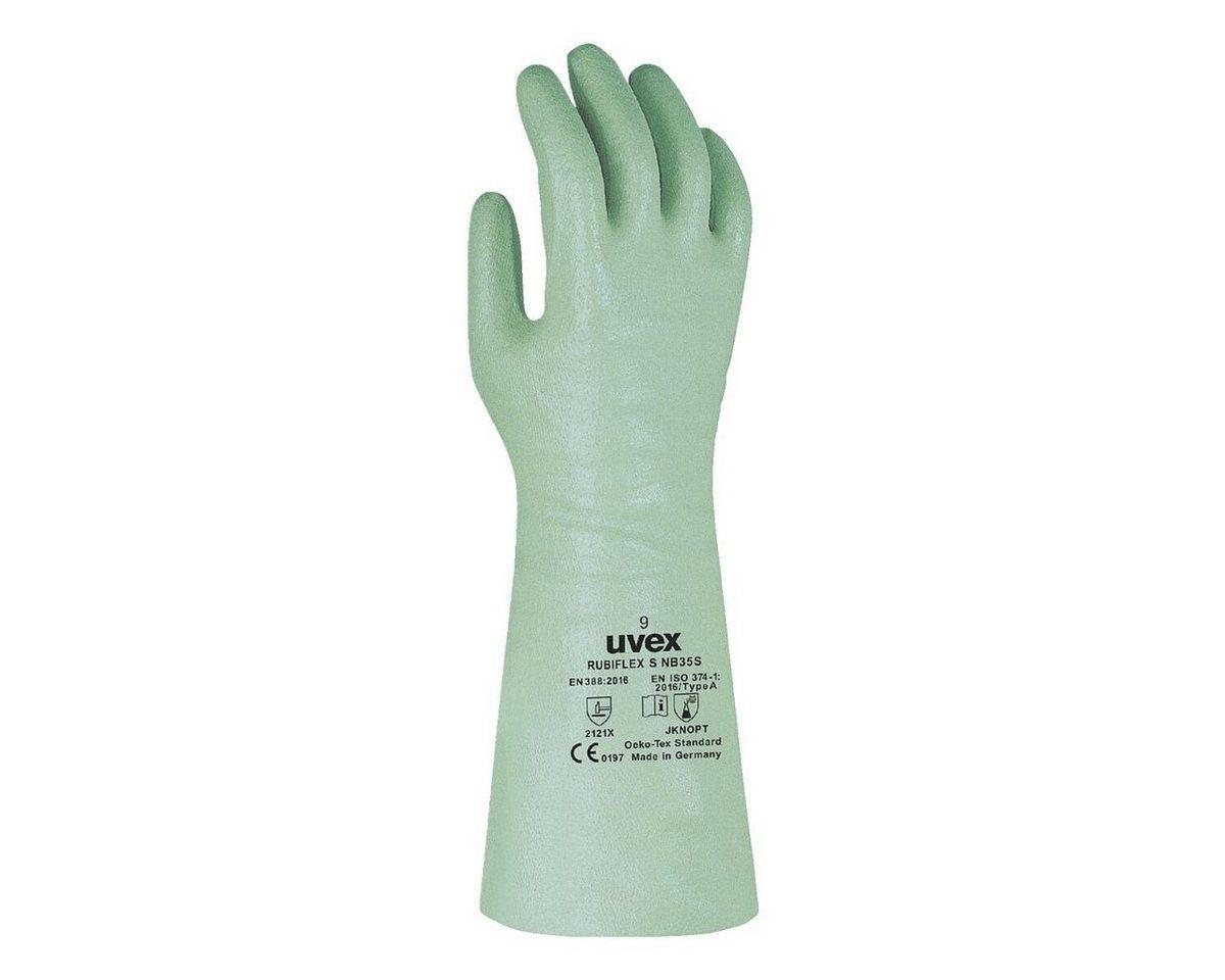 Uvex Arbeitshose »Profas Rubiflex NB 35« wasserdicht und chemiekalienbeständig