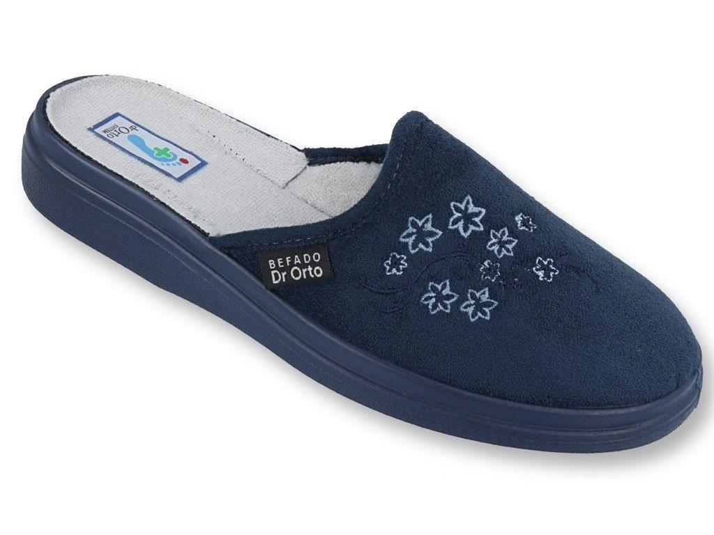 Dr. Orto »Medizinische Hausschuhe für Damen« Hausschuh Slipper, Pantoffeln, blau