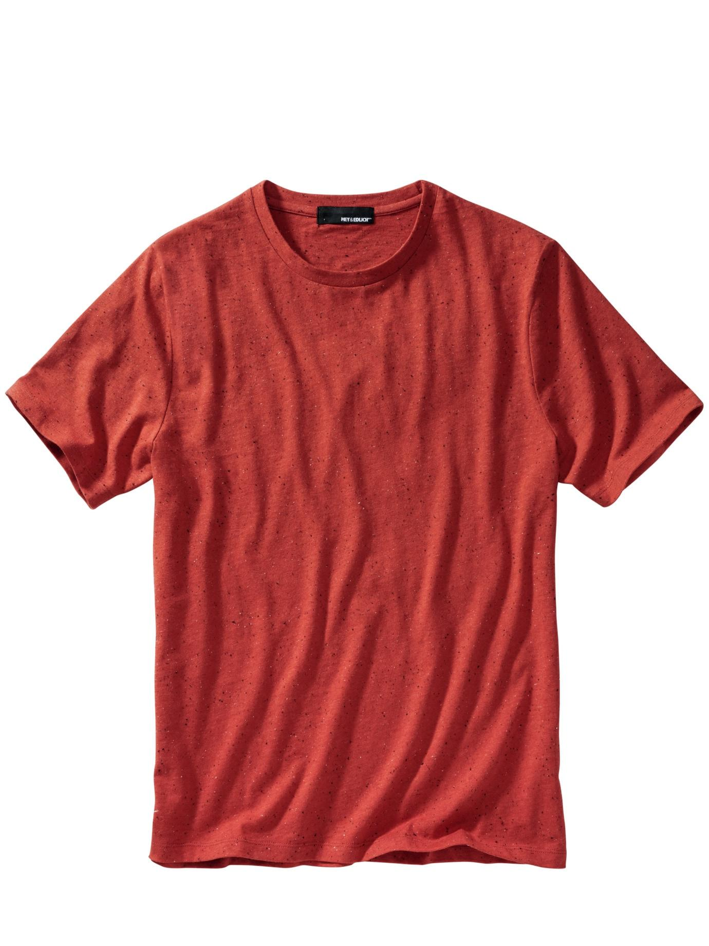 Herren Backstein-Shirt rot 46, 48, 50, 52, 54, 56