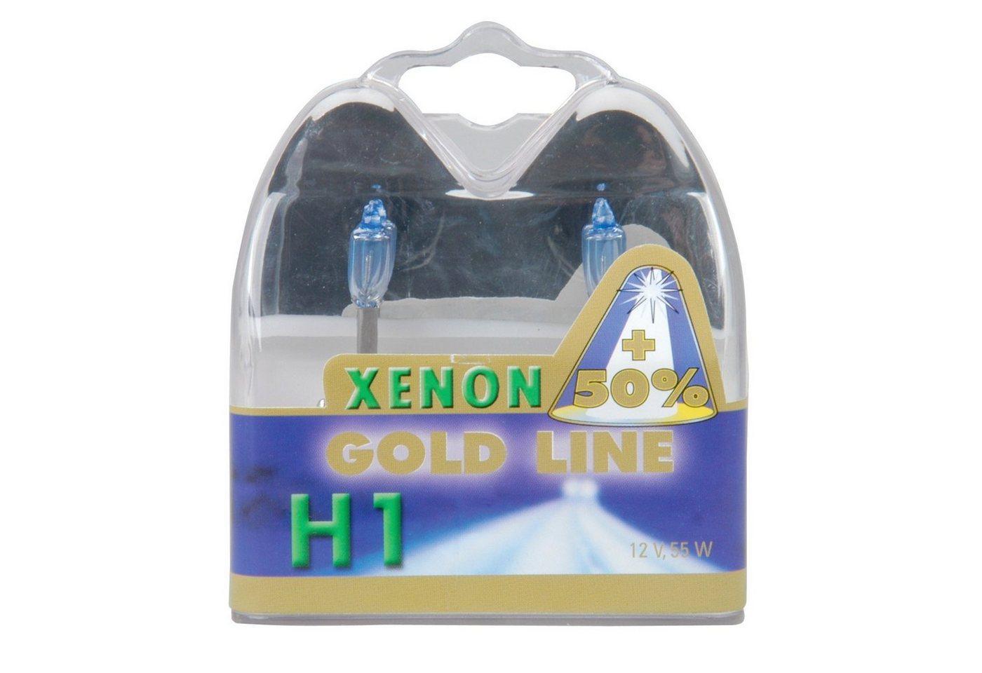 UNITEC »H1 Xenon Gold« Halogenlampe, 2 Stück, Tageslichtweiß