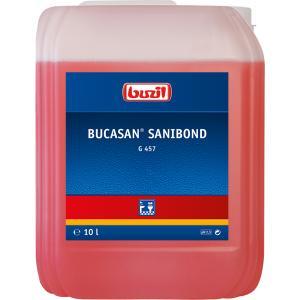Buzil Sanitärreiniger Bucasan® Sanibond G 457, Viskoser Unterhaltsreiniger auf Zitronensäurebasis, 10 Liter - Kanister