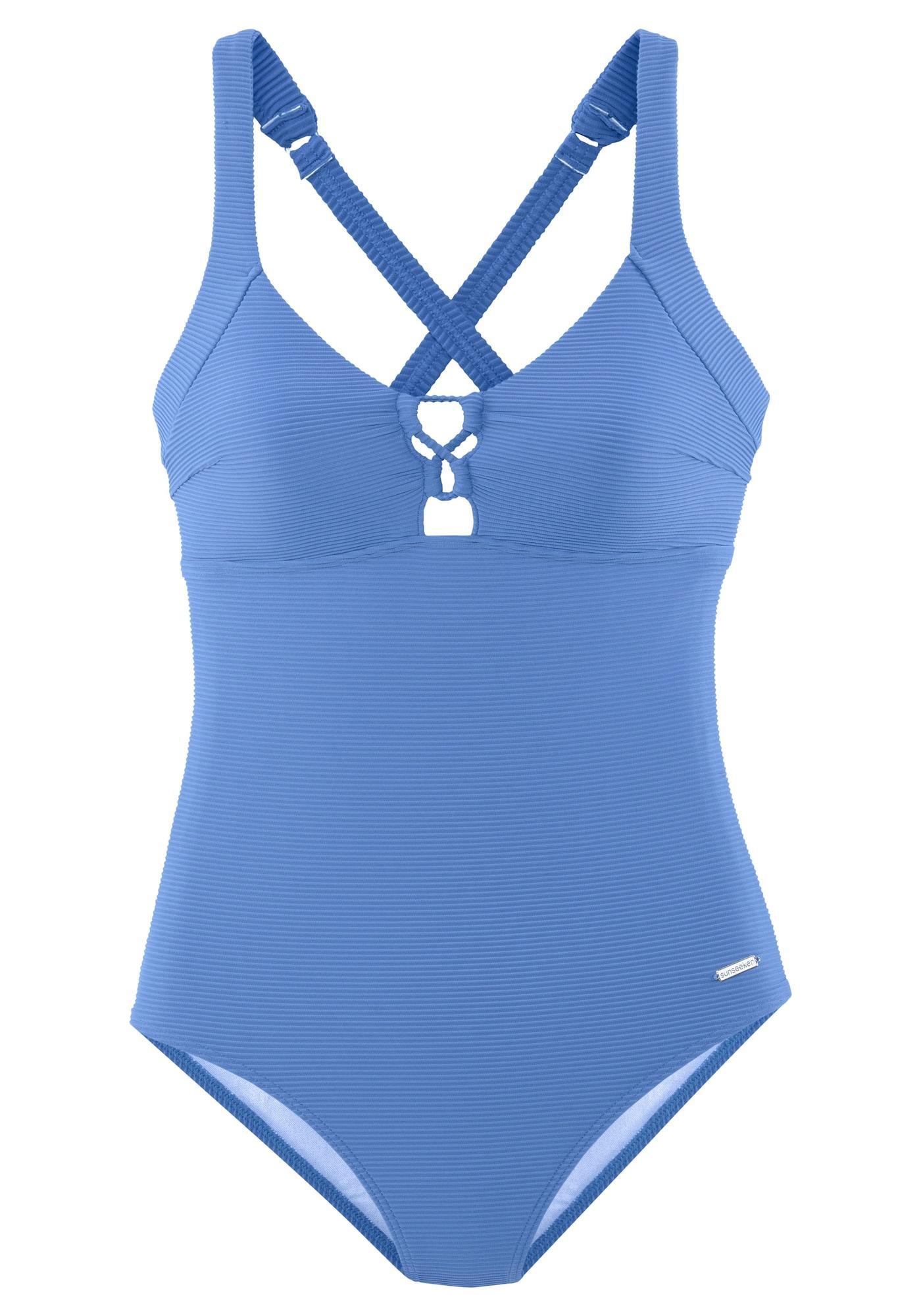 SUNSEEKER Badeanzug blau