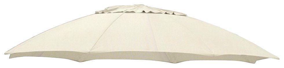 Ersatzschirmbespannung sungarden, Ø 375 cm, Ø 375 cm, rund, beige