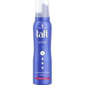 Taft Haarpflege Styling Ultra Schaumfestiger gestärktes Haar (Halt 4) 150 ml