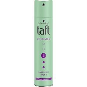Taft Haarstyling Haarspray Volumen Haarspray für alle Haartypen (Halt 3) 250 ml