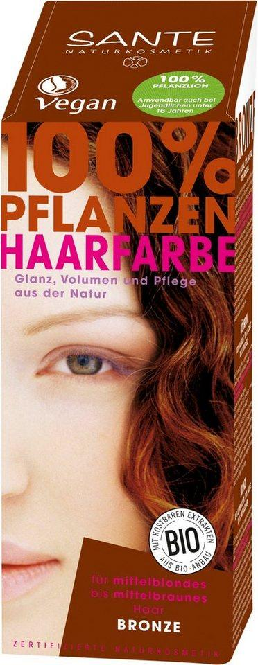 SANTE Haarfarbe »Pflanzenhaarfarbe bronze«